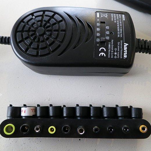 Hama Universal-Notebook-Netzteil Adapter