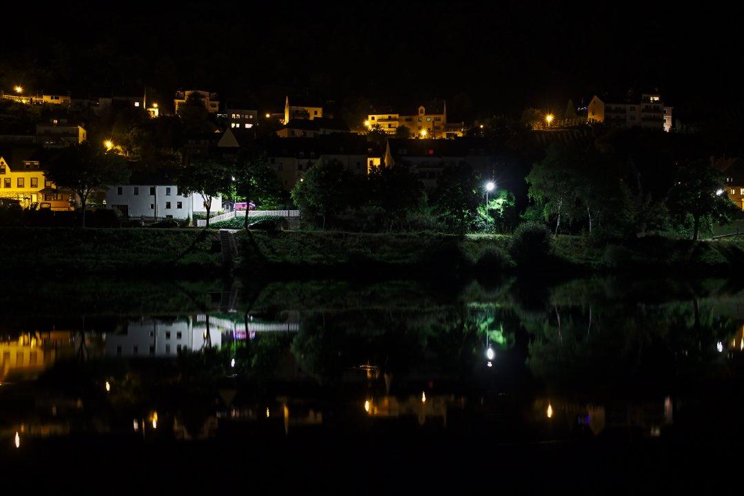 31.08.2016 - Nachts an der Mosel