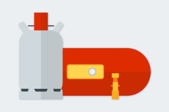 Adapter für LPG-Tanks und Gasflaschen