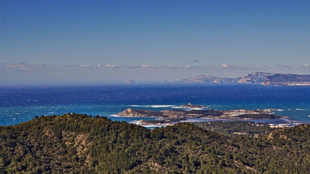 Cap Sicié - Blick Richtung Marseille