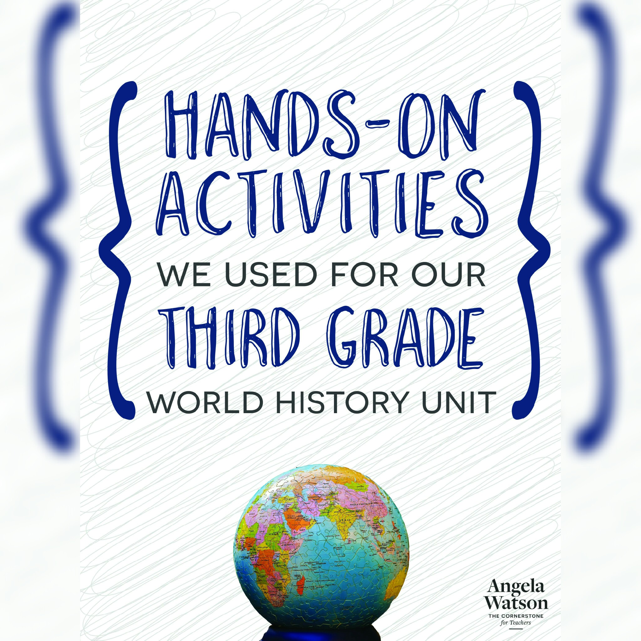 Hands On Activities We Used For Our Third Grade World