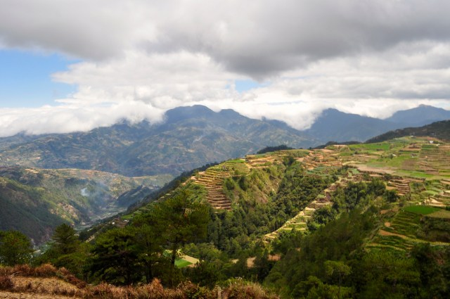 Panoramic View over Sagada
