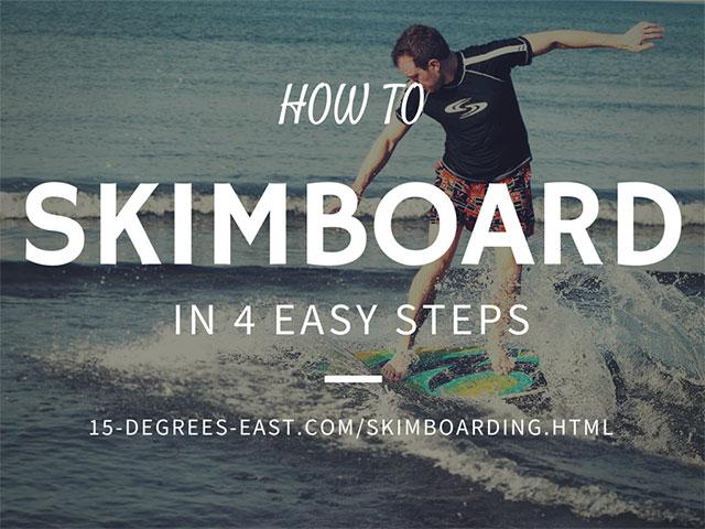 How to Skimboard