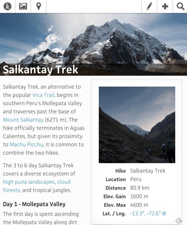 Hike.io Website