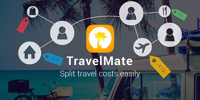 TravelMate helps you to split travel costs