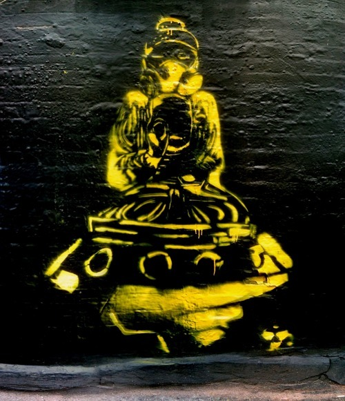 Nice stencil work by LES, via tumbl p0ps