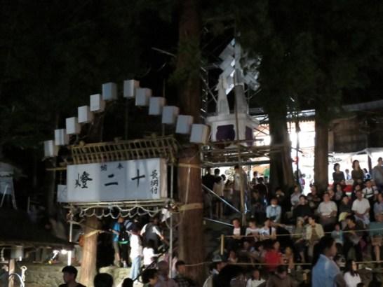 21日、犀川神社の秋祭り➊