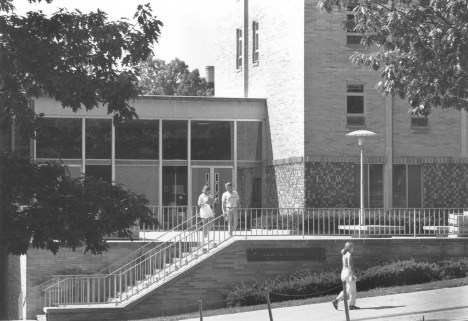 The Law Building in 1991.