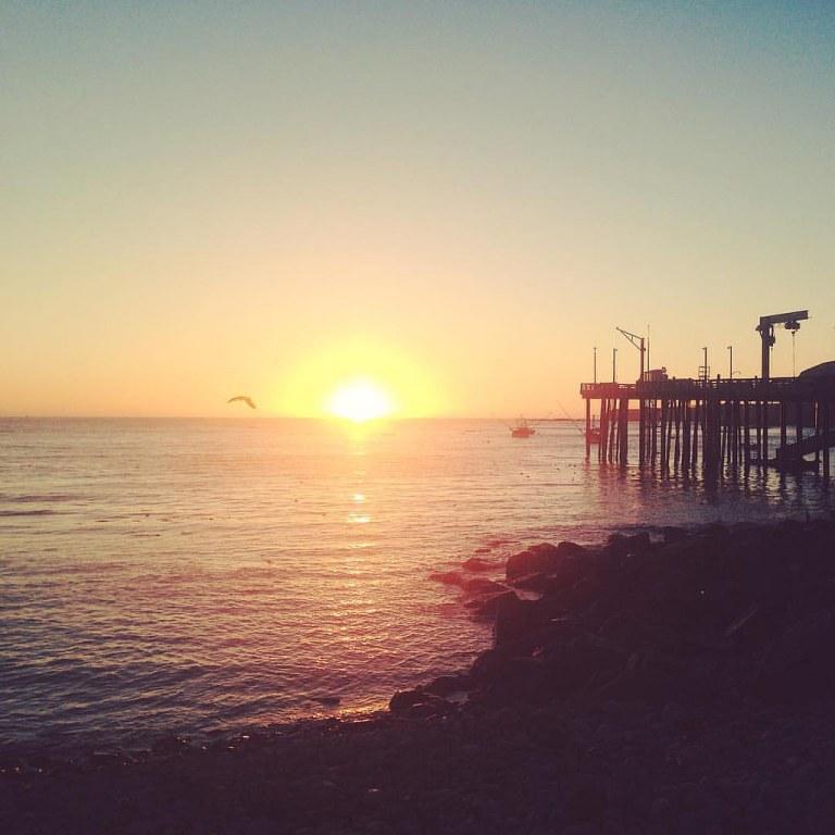 Arena Cove sunset