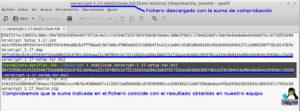 Comprobar sha512 en Veracrypt