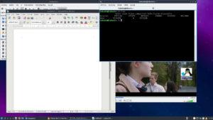 Uso Memoria VLC y Writer en Lubuntu con lxqt