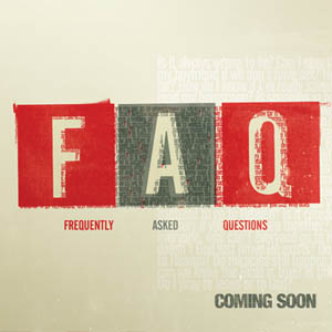 FAQ - Upcoming Series