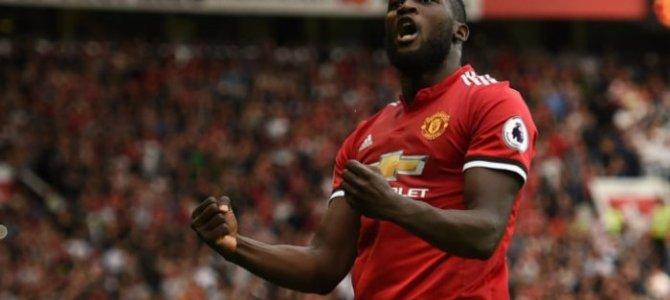 Lukaku Lakukan Selebrasi Ketika Cetak Gol ke Gawang Everton