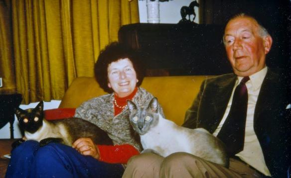 Mr & Mrs Tovey 1.7.1977