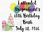 We attended Dragonheart's 10th Birthday Bash!