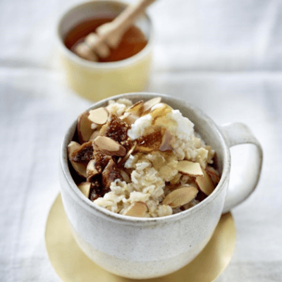 Oatmeal Recipes: Fig and Ricotta Oatmeal
