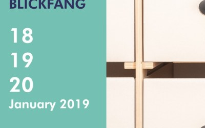 16boxes auf dem Blickfang Designers Market @ Imm Cologne, 18-20.01.2019