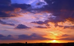 sky-sunset sky