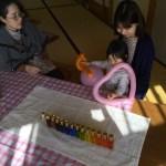 TCカラーセラピー@福島避難者交流施設にて