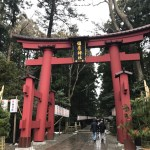 弥彦神社さんへ初詣にいきました