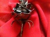 Rose en  Fer Forgé