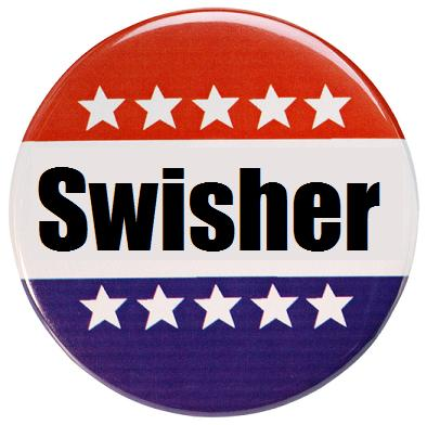 Swisher Pin