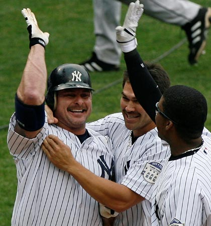 Who could forget that mustache? Look even Johnny Damon was sporting one.