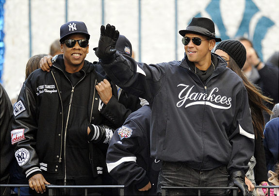 I like A-Rod's hat