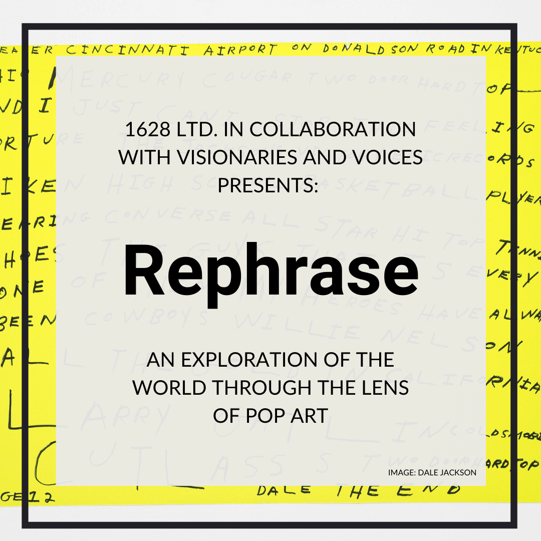 1628 Winter 2020 Art Exhibition: Rephrase