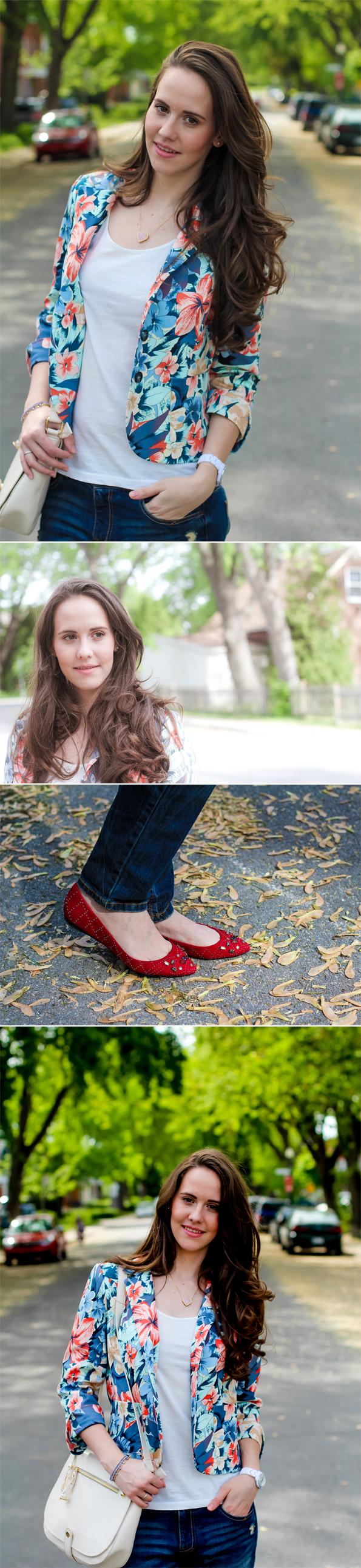 Blazer Florido - Primavera - Look do Dia - OOTD - Sue Brandao