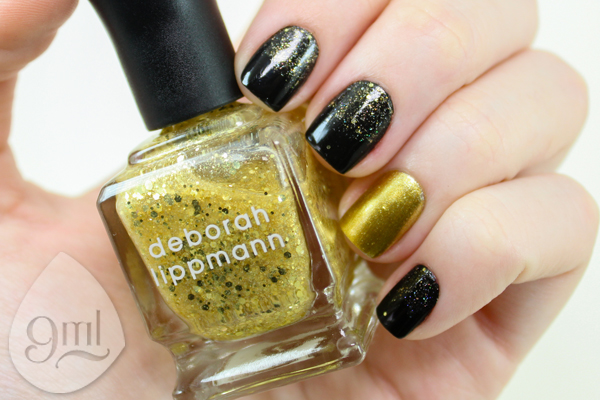 Nail Art - Preto - Dourado - 9ml - Sue Brandao