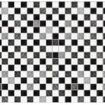 Channel Distribution Gifts En Gadgets Walplus Marble Mosaic Tile Sticker Black White 15x15 Cm 24 Pieces