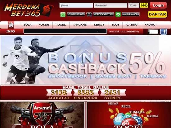 Situs Judi Bola Online Resmi Aman dan Terpercaya