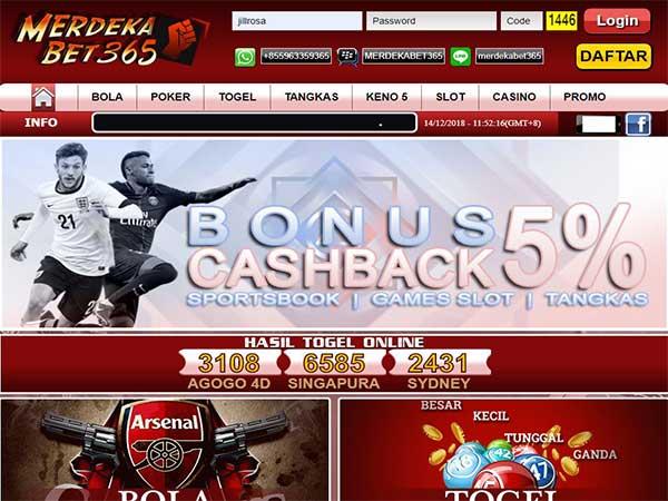 Link Alternatif Resmi Website Merdekabet365