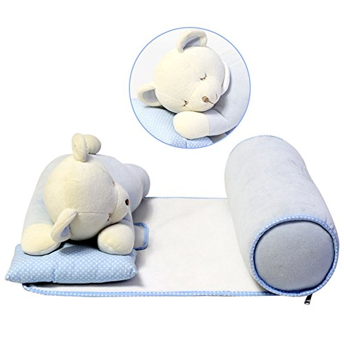 sleep positioner anti roll pillow for