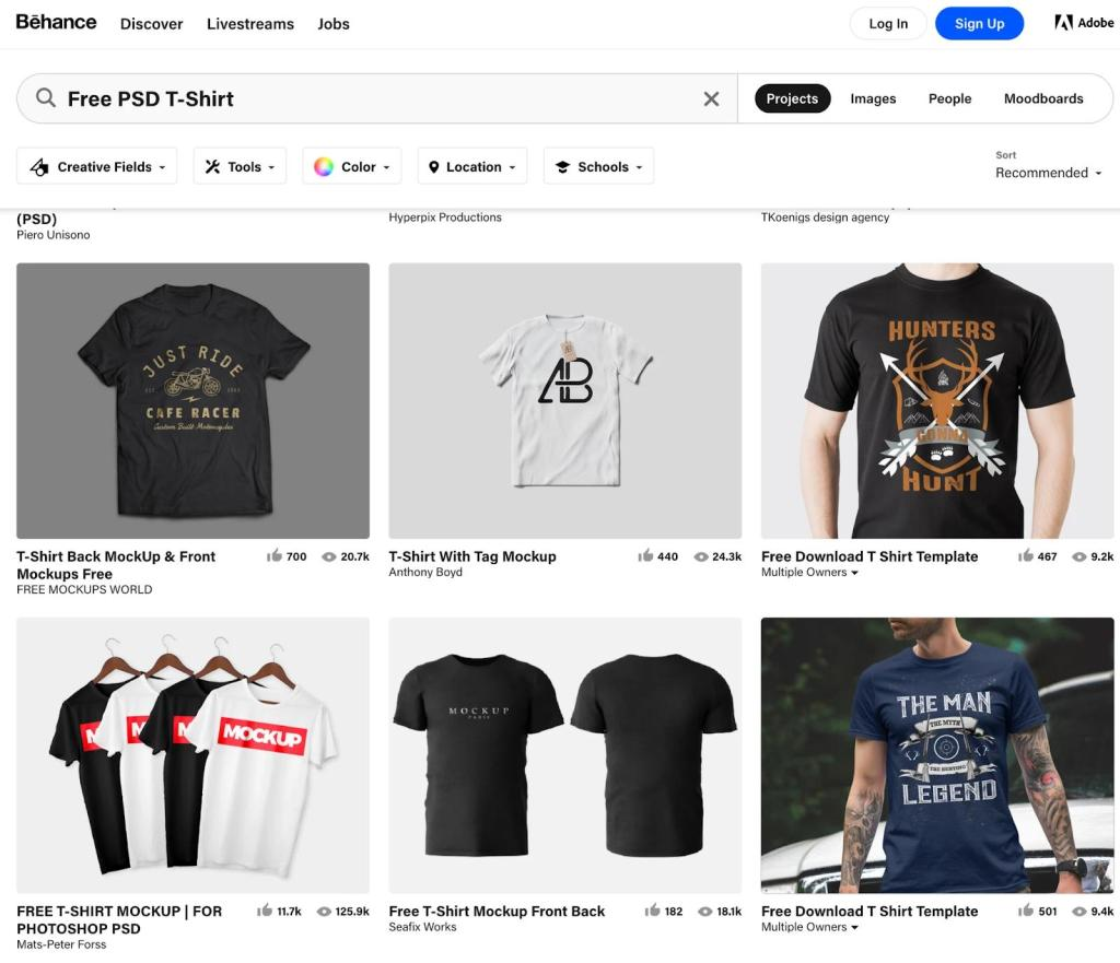 Design Your Line: 21 Ready-To-Use Online T-Shirt Templates and Mockups