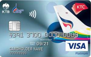 บัตรเครดิต KTC - BANGKOK AIRWAYS VISA PLATINUM