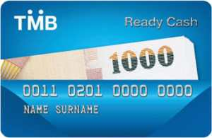 บัตร TMB Ready Cash Card