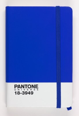 Pantones-dazzling-blue-notebook