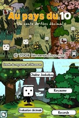 Au Pays du 10, Nintendo DS (source: jeuxvideo.com et Gamekult)