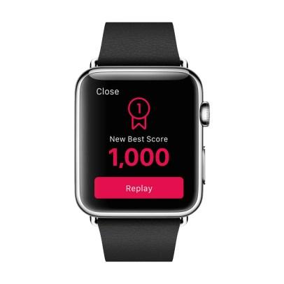New Best Score (Peak sur Apple Watch)