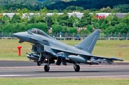 Décollage Eurofighter Typhoon
