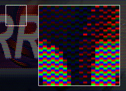 Pseudo mode high-color dans E:RROR 808 par Shock!
