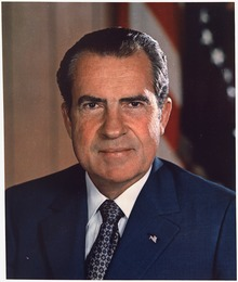 Dad knew Nixon, before he was President of The United States, again through Shaheen