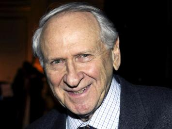 "William Safire, ""Bill"" as how Dad knew him of The New York Times."