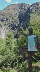 Klettern Meran Klettersteig Hoachwool