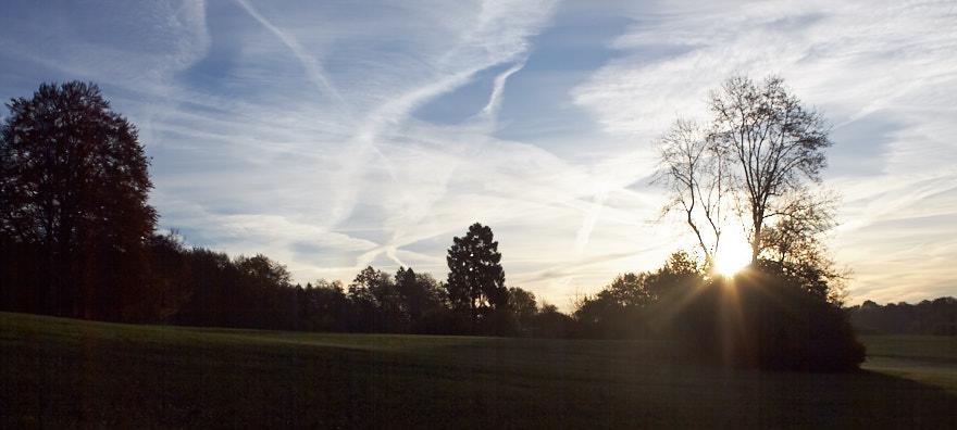Sonnenaufgang am Glatzenstein Sonne