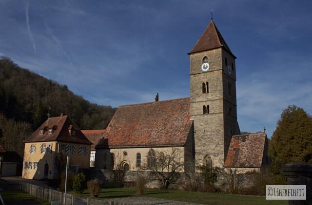 Rothenburg_Die Kirche in Detwang