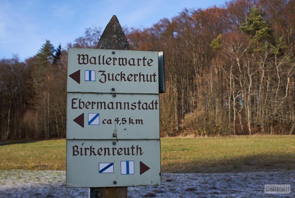 Sonntagsspaziergang zum Zuckerhut bei Birkenreuth