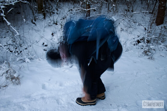 Schuhe_Sorel Caribou im Schnee
